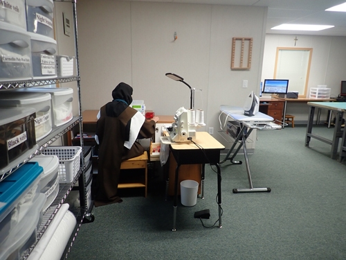 Domestic Sewing Station
