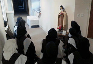 Community gathers for St. Therese novena