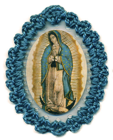 Our Lady of Guadalupe Relic Badge