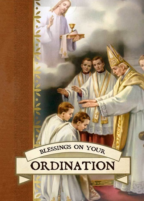 Blessings on your ordination greeting card