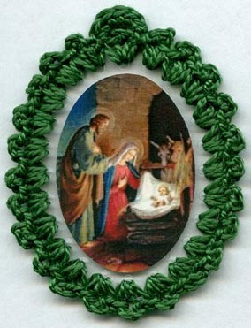 Christmas relice badge