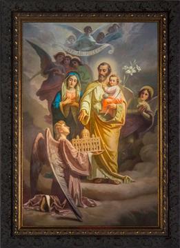 St. Joseph framed art